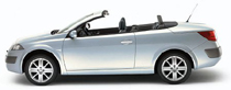 rent a cabrio corfu car hire